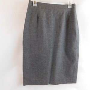 JH Collectibles Pencil Skirt Gray Sz 12